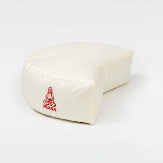 Tönkölyhéj párna félhold ülő 36x23x12 cm + ajándék utántöltő