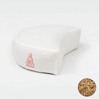 Tönkölyhéj párna félhold ülő 36x12 cm (Dinkel)