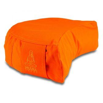 Narancs standard huzat félhold ülőpárnához