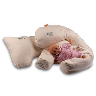 PRANA Premium Tönkölyhéj baba-mama párna (szoptatáshoz)