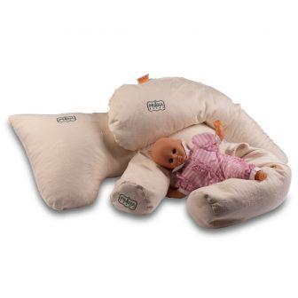 ECO Tönkölyhéj párna baba-mama (szoptatáshoz)  + ajándék mini illatpárna