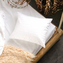 PRANA Pamut szatén fehér huzat 40x50 cm