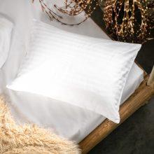PRANA Pamut szatén fehér huzat 50x70 cm