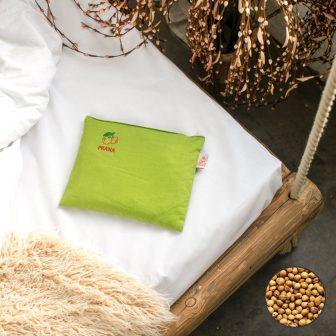 PRANA Meggymag párna  25x30 cm  zöld